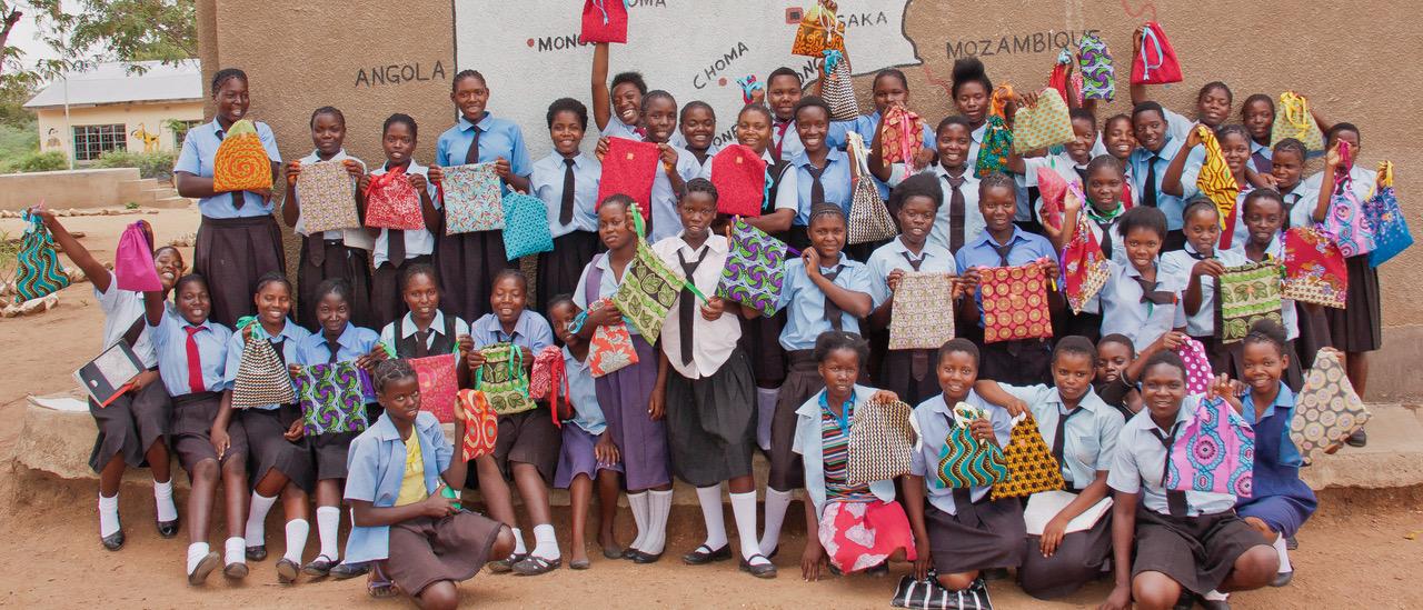 Schulkinder in Sambia
