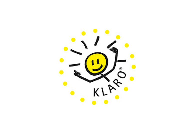Klaro ist das Maskottchen für das Kompetenzprogramm Klasse2000