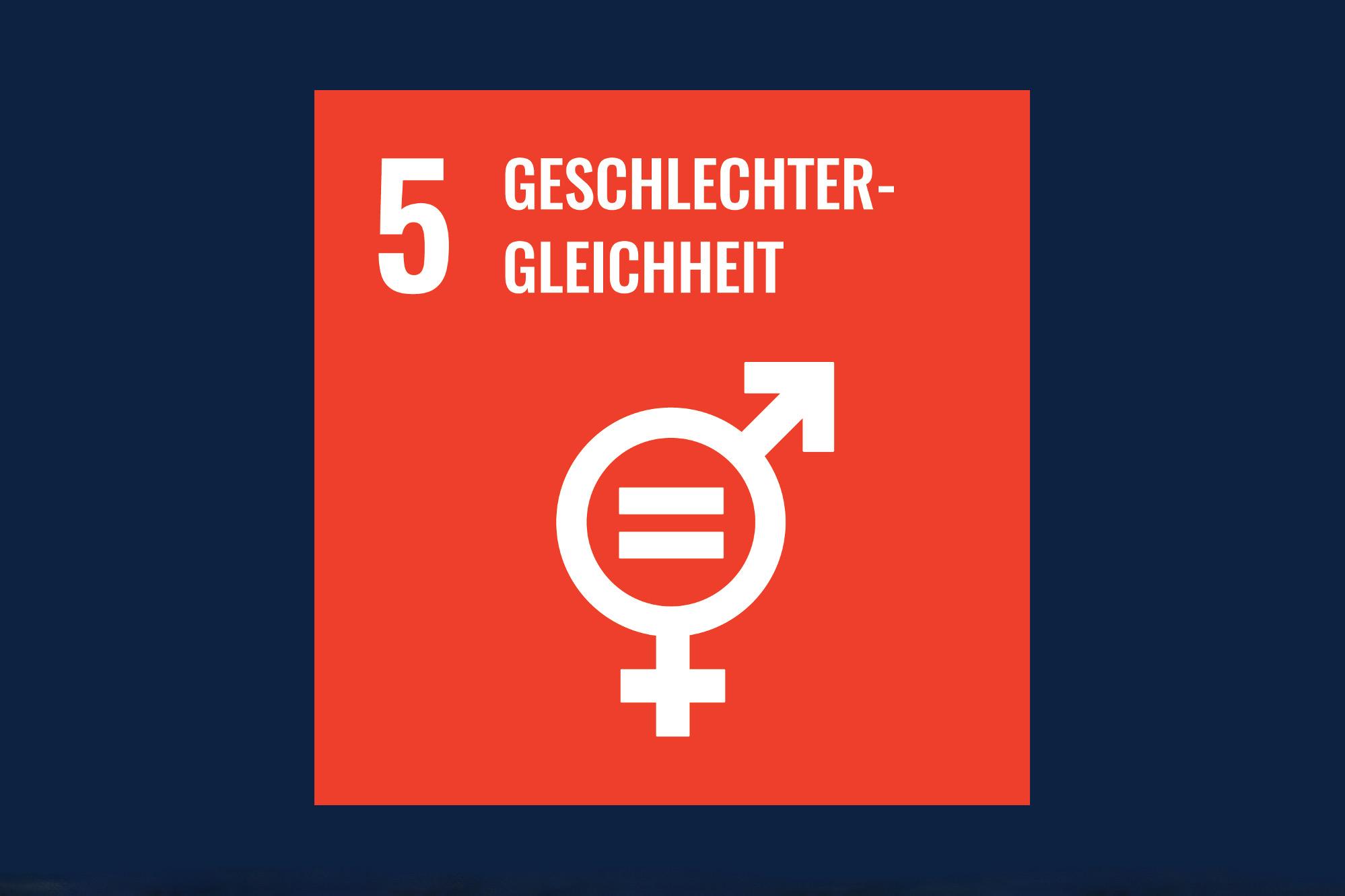 Icon für das Ziel 5 - Geschlechtergleichheit