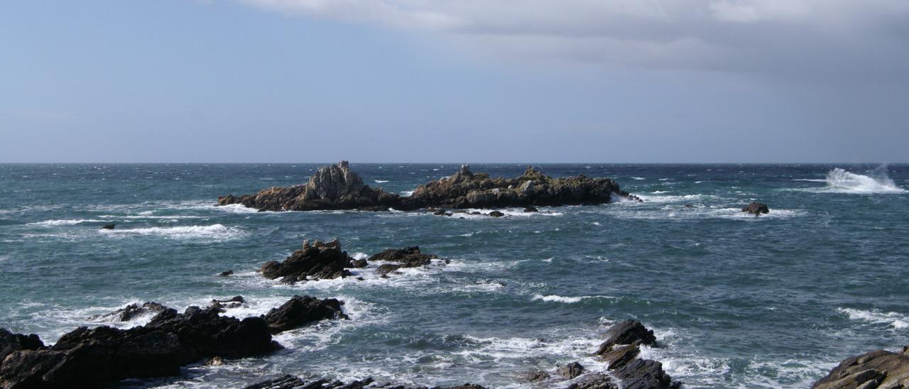 schroffe Atlantikküste