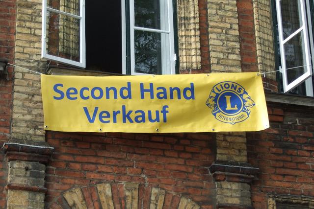 Banner Second-Hand-Verkauf